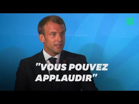 Macron fait applaudir la Russie, nouveau signataire de l'accord de Paris