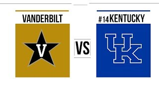 Week 8 2018 Vanderbilt vs #14 Kentucky Full Game Highlights
