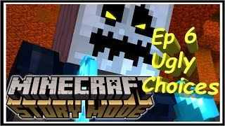 Minecraft: Story Mode Episode 6 A Portal To Mystery: Ugly/No Choices