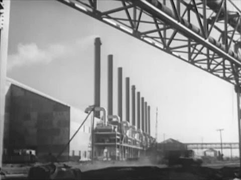 Levittown: New Neighbor - 1953 Steel Mills - CharlieDeanArchives / Archival Footage