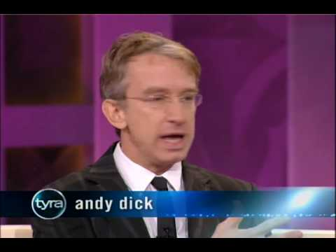 Andy Dick Admits He's A Trisexual on Friday's The Tyra Banks Show