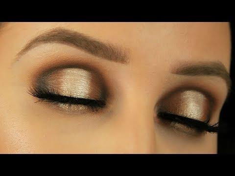 Neutral Glam Spotlight/Halo Smokey Eye | Juvias Place Masquerade Palette