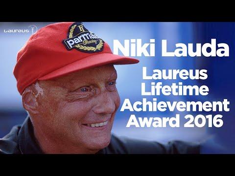 Laureus Lifetime Achievement Award 2016 - Niki Lauda