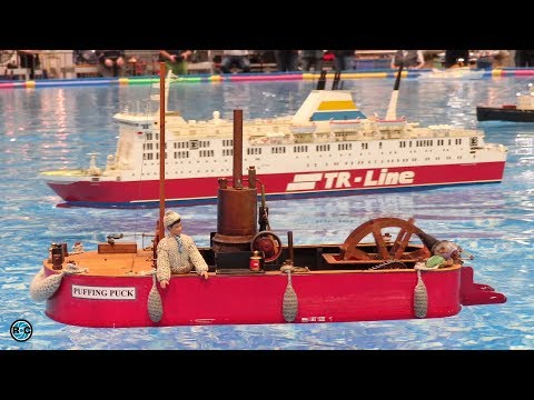 RC Boat & Ship Models * modell-hobby-spiel Leipzig 2017 *
