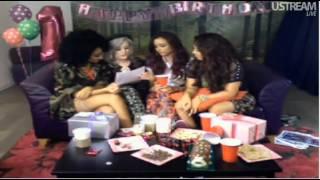 Little Mix - Birthday Live Stream 20/08/2012 Part 3