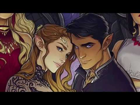 Aelin and feyre ft their court and males