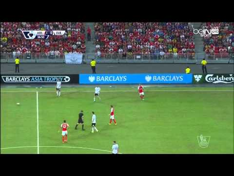 Arsenal vs Everton 3 - 1 Full Match (Premier League Asia Tro