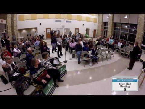 Executive Kittleman Hosts Elkridge Town Hall -- February 23, 2016