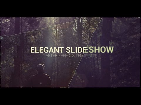 Elegant Slideshow \u2014 After Effects project Videohive template - YouTube