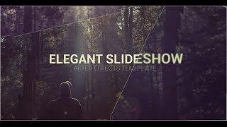 Elegant Slideshow | After Effects template | Videohive template | Elegant Slideshow