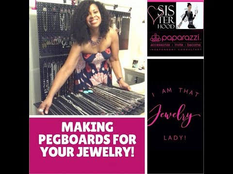 Paparazzi Accessories - Making Pegboards for your Jewelry