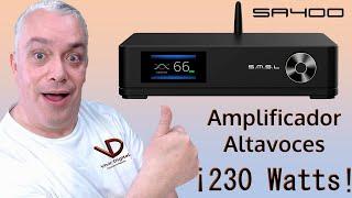 Amplificador para Bocinas SMSL SA400  ¡INCREIBLE PODER!
