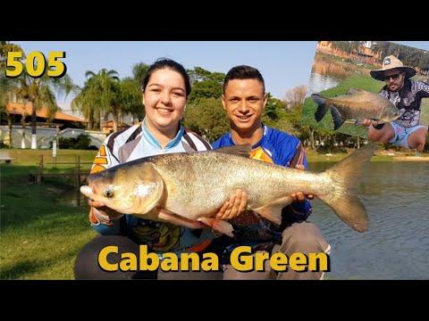 Cabanas Green - Primeira visita do Fishingtur neste pesqueiro - Fishingtur na TV 505