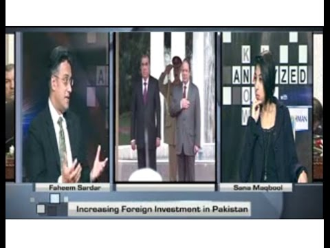 Pakistan Economic Growth & Projects, visit of Tajikestan President | Faheem Sardar 201511
