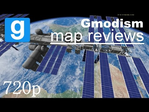 Garry's Mod Map Review: International Space Station (Gm_ISS)