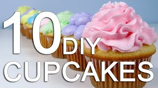 10 WAYS TO ICE A CUPCAKE!