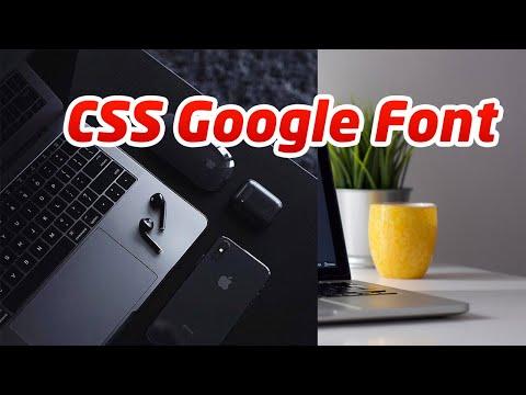 CSS GOOGLE FONT DENGAN VS CODE ! BELAJAR HTML5 DAN CSS3 EP. 2