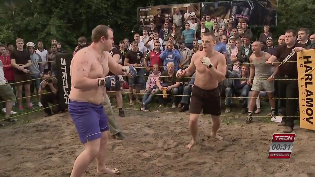 FAT FIGHTER vs PRO BOXER !!! Wild Fight !!!