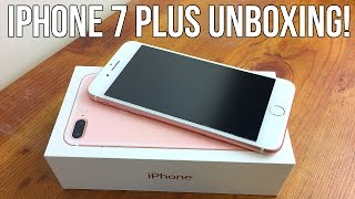Unboxing iPhone 7 Plus | Rose Gold 256GB