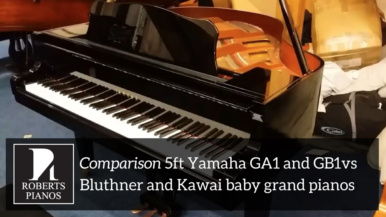 5ft Yamaha Ga1 And Gb1 Vs Bluthner And Kawai Baby Grand