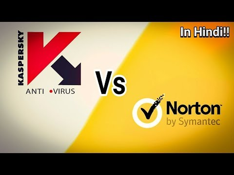 Norton Security 2018 Vs Kaspersky Antivirus 2018!!! Big Fight in Hindi!!!