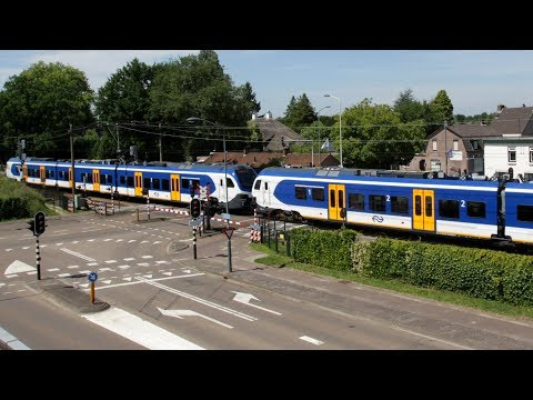 RailCam Road and Rail Crossing Mierlo-Hout Netherlands