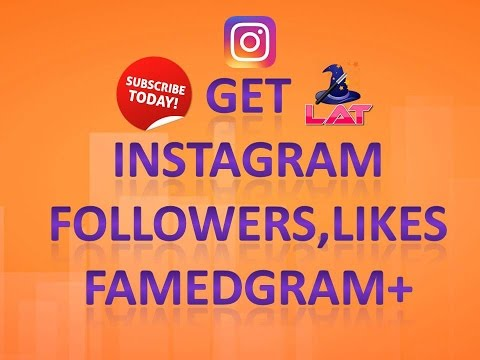 Famedgram Get Likes Followers For Instagram