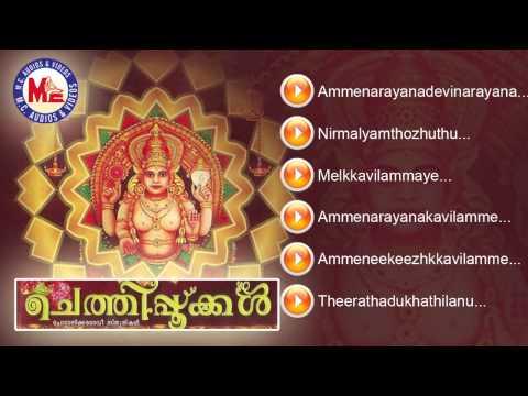 ചെത്തിപ്പൂക്കൾ | CHETHIPOOKKAL | Hindu Devotional Songs Malayalam | Chottanikkara Devi Songs