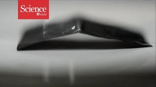 Carbon-based Paper That Walks When Hit With A Laser