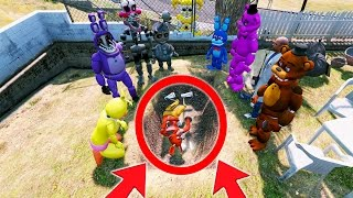 FOXY IS IN THE GRAVE! WHO DID IT? MYSTERY (GTA 5 Mods For Kids FNAF Funny Moments)