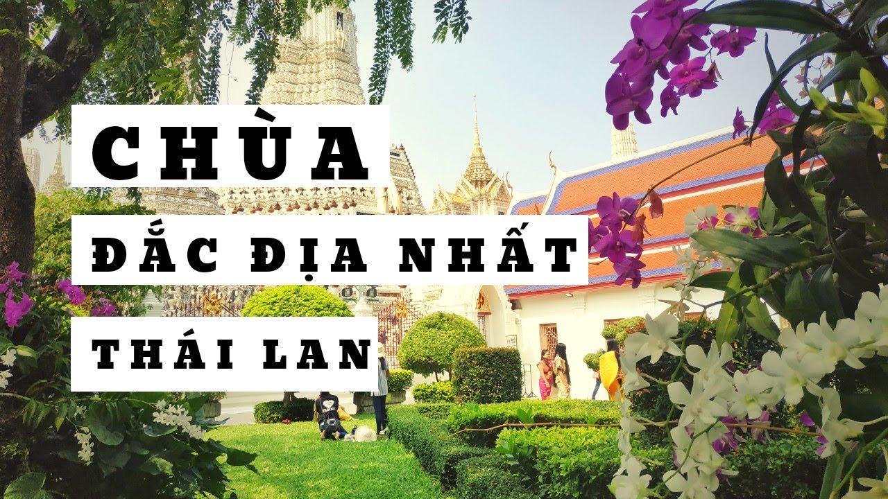 ĐI TOUR THÁI LAN   Ngắm Chùa Bình minh Wat Arun đắc địa