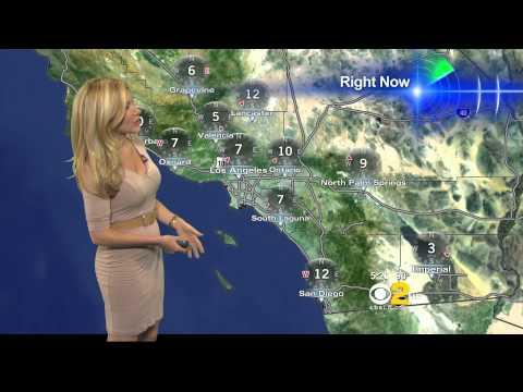 Jackie Johnson 2012/08/27 CBS2 HD; Tan...