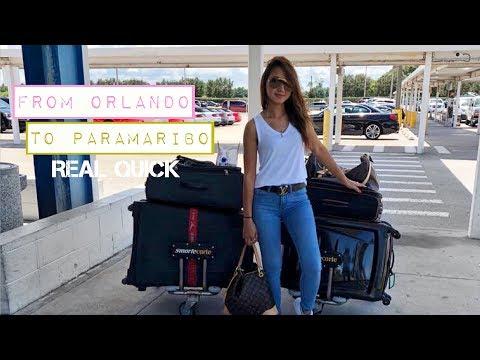 From Orlando to Paramaribo real quick