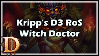 [Diablo 3] Kripp's D3 RoS Witch Doctor