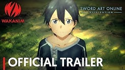 Sword Art Online -Alicization- | Official Trailer [English Subs]