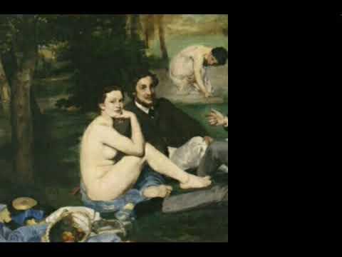 Oeuvre vivante et interview impossible: l' impressionnisme à l'école avec Edouard MANET