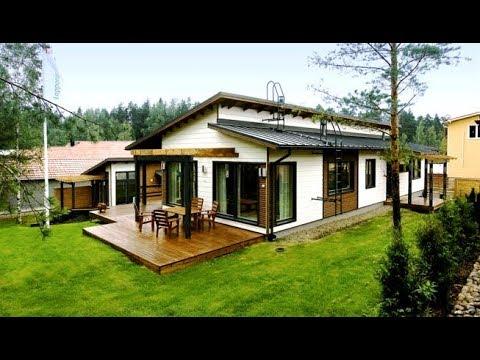 Технология строительства модульного финского дома.