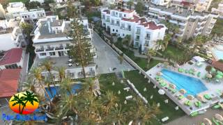 Palm beach hotel stalis|A SKY EYE AERIAL VIDEO|