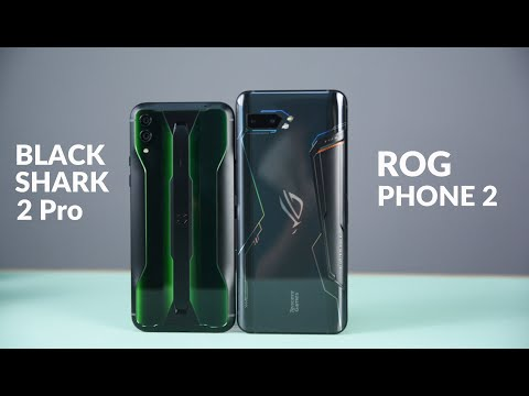 Rog Phone 2 VS Black Shark 2 Pro Comparison: The Competition of Gaming Phone