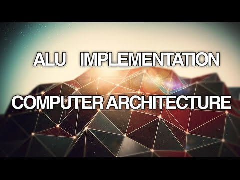 ALU Implementation - Arithmetic Logic Unit OP codes and Functions