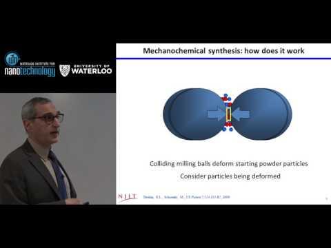 Professor Edward Dreizin - Waterloo Institute for Nanotechnology (WIN) Seminar
