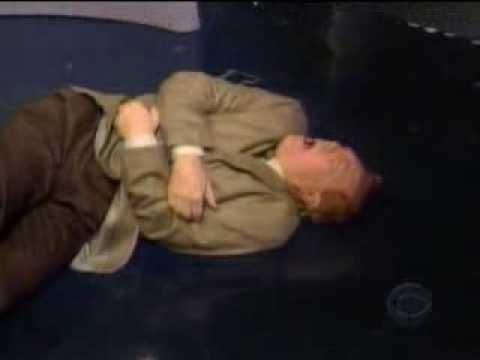 Letterman: Allen gets beat up