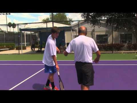 Luke Smith College Tennis Recruiting Video
