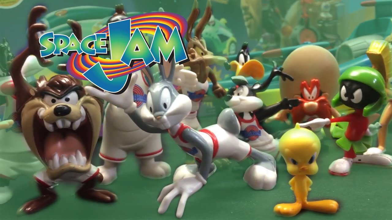 Space Jam Action Figures Playmates Toys History Review Youtube