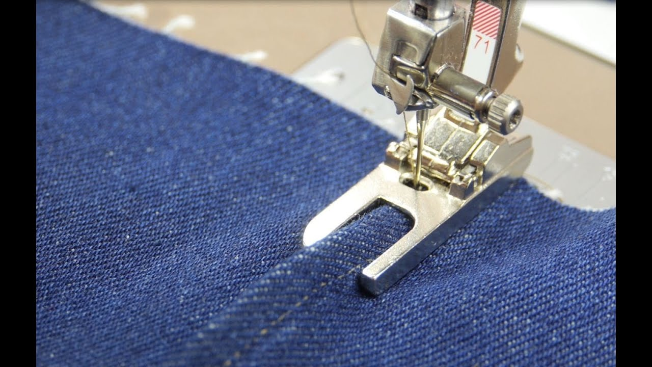 tutorial how to sew lapped and flat felled seams with the bernina lap seam foot no 70 and 71. Black Bedroom Furniture Sets. Home Design Ideas