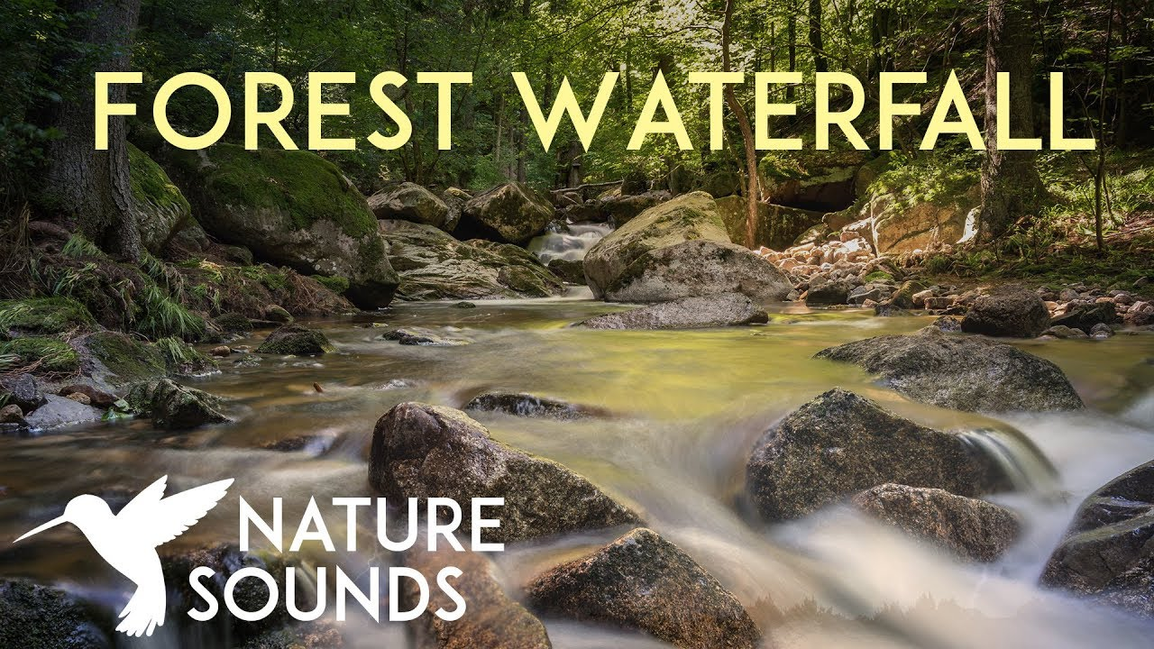 sounds nature waterfall yoga hours