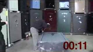 Security On Sale Gun Safe Prying Video