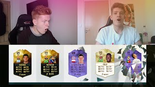 FIFA 16 MY BEST EVER 5 MINUTE FUT DRAFT WITH JOEL!! DUAL YOUTUBER FUT DRAFT Squad Builder