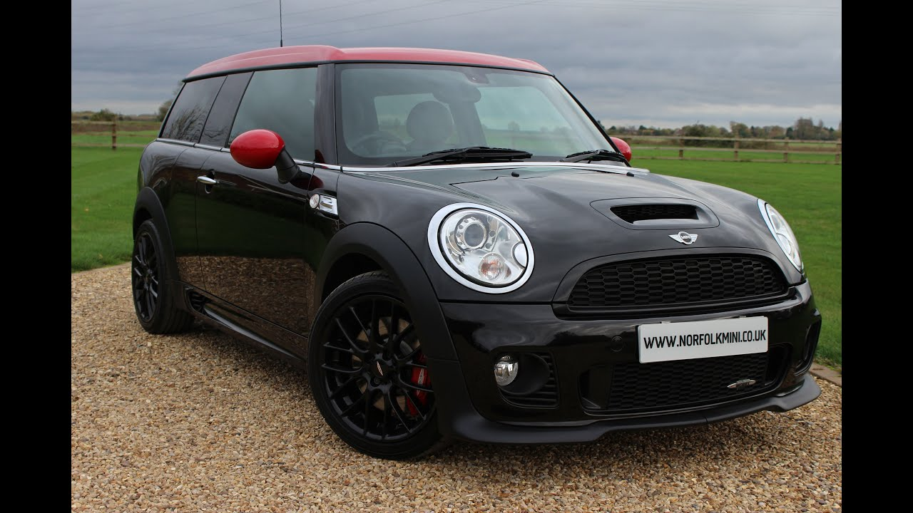 mini clubman john cooper works black youtube. Black Bedroom Furniture Sets. Home Design Ideas