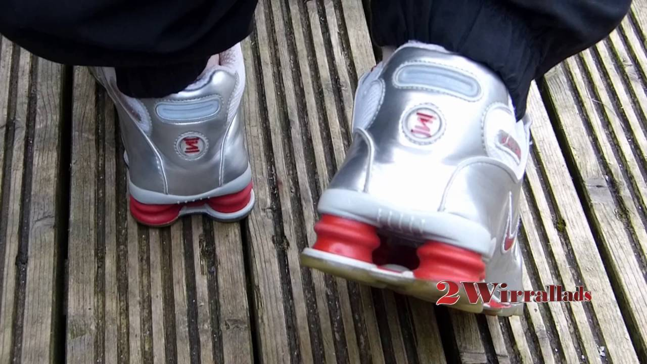 huge selection of 6c7a3 ddf3f My Old School Nike Shox